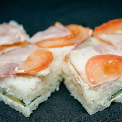 Суши-кейк Хаму