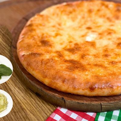 Осетинский Пирог со шпинатом и картофелем